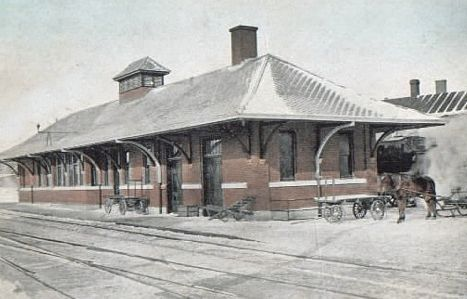 Negaunee MI Union Station